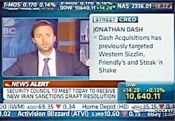 Jon Dash on CNBC